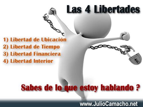 Las 4 Libertades - Julio Camacho