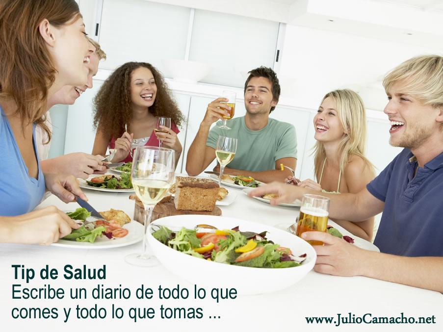 Tip de Salud - Diario de Comidas
