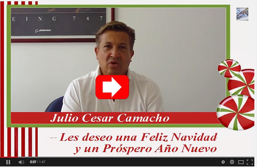 Mensaje de Navidad de Julio Camacho